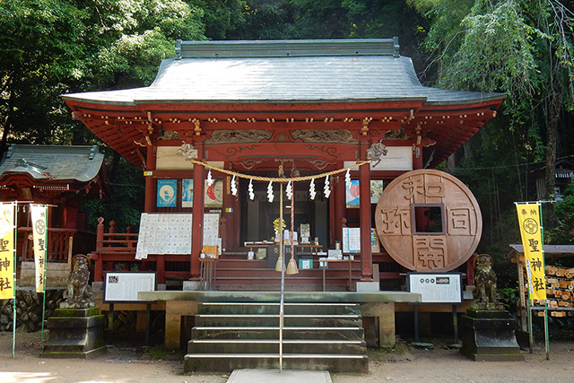Hijiri Shrine (Chichibu city kuroya )