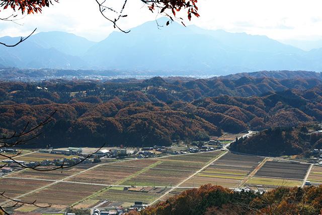 破風山からの太田地区の眺望
