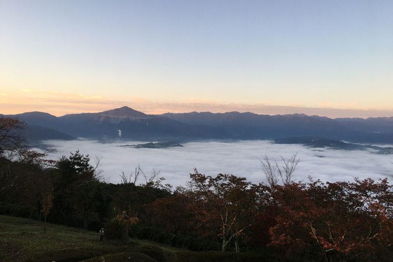 美の山雲海