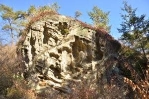 白砂公園の奇岩