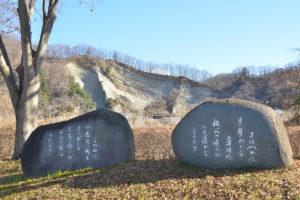 宮沢賢治と保阪嘉内の歌碑