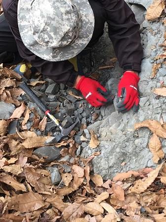 冬休み化石発掘体験ツアーが実施されました