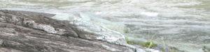 長瀞の結晶片岩